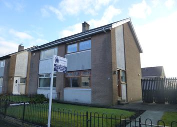 Thumbnail 2 bed semi-detached house for sale in Auchencrow Street, Easterhouse, Glasow
