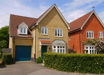 Thumbnail 4 bed detached house for sale in Corporal Lillie Close, Sudbury