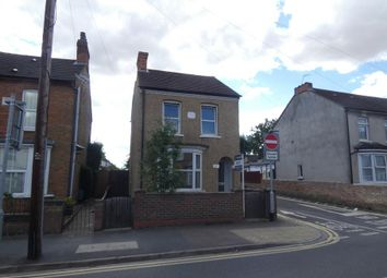 Thumbnail 3 bed detached house to rent in Spring Road, Kempston, Bedford