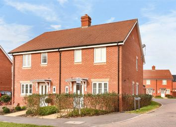 Thumbnail 3 bed semi-detached house for sale in Cutforth Way, Romsey, Hampshire
