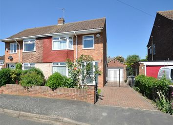 Thumbnail 3 bedroom semi-detached house for sale in Rodney Road, Hartford, Huntingdon, Cambridgeshire