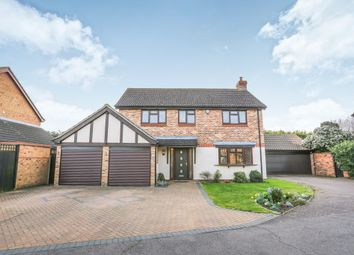 Thumbnail 4 bed detached house for sale in Cryselco Close, Kempston, Bedford