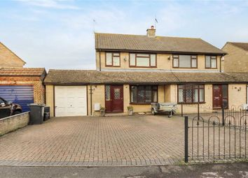 Thumbnail 4 bedroom semi-detached house for sale in Ashbury Avenue, Swindon, Wiltshire
