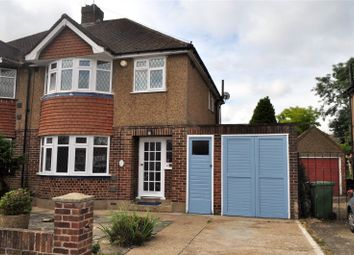 Thumbnail 3 bed semi-detached house to rent in Heath Close, Stanwell, Staines-Upon-Thames, Surrey