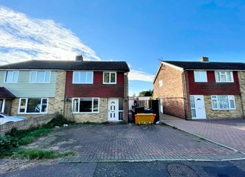 Thumbnail 3 bed semi-detached house for sale in Queensway, Great Cornard, Sudbury