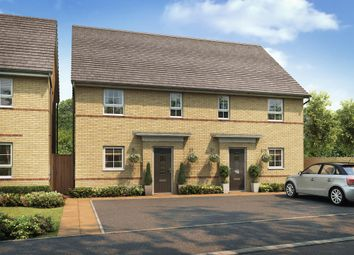 "Thumbnail 3 bedroom semi-detached house for sale in ""Hampton"" at Forder Way, Hampton, Peterborough"