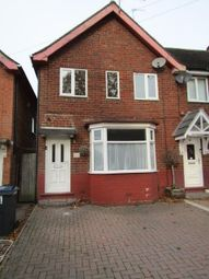 Thumbnail 3 bed terraced house to rent in Gracemere Crescent, Hall Green, Birmingham