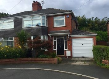 Thumbnail 3 bed property to rent in Mosley Close, Timperley, Altrincham