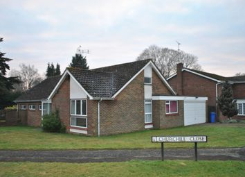 Thumbnail 3 bed detached bungalow to rent in Churchill Close, Hartley Wintney, Hook