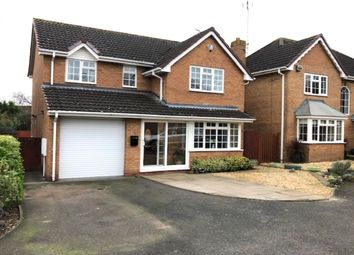 Thumbnail 4 bed detached house for sale in Marsh Avenue, Long Meadow, Worcester