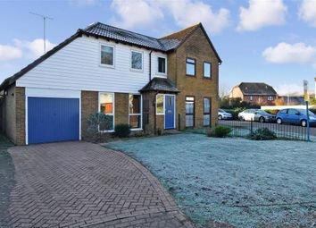 Thumbnail 3 bed semi-detached house for sale in Ashbee Close, Snodland, Kent