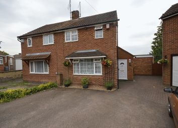 Thumbnail 3 bedroom semi-detached house for sale in Redwood Drive, Luton