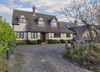 Thumbnail 4 bed detached house for sale in Litlington, Royston, Cambridgeshire