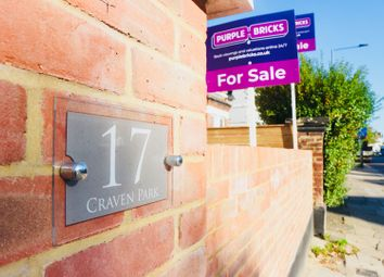 Thumbnail 3 bed flat for sale in 17 Craven Park, Willesden