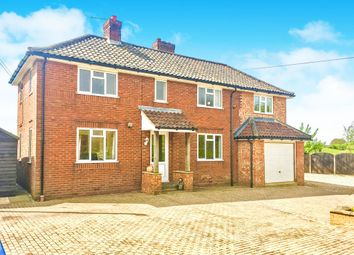 Thumbnail 4 bedroom detached house for sale in Back Lane, North Elmham, Dereham