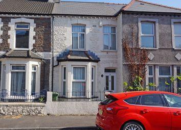 Thumbnail 3 bed terraced house for sale in Aberdovey Street, Splott, Cardiff