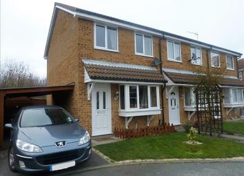 Thumbnail 2 bedroom end terrace house to rent in Hervey Close, Shotley Gate, Suffolk