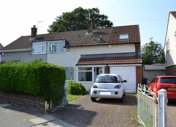 Thumbnail 4 bed semi-detached house for sale in Wingate Road, Eastham, Wirral