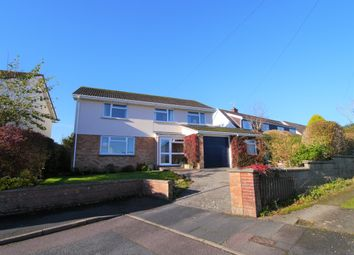 Thumbnail 4 bed detached house for sale in Deans Park, South Molton