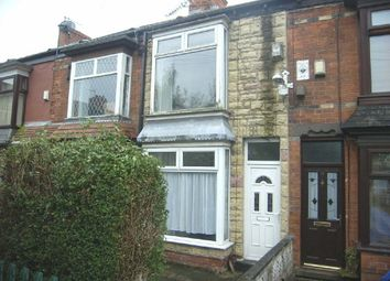 Thumbnail 2 bed terraced house for sale in Chester Avenue, Beverley Road, Hull