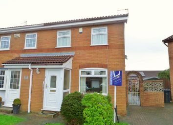 Thumbnail 2 bed semi-detached house to rent in Lockerbie Close, Houghton Green, Warrington