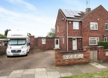 Thumbnail 3 bed semi-detached house for sale in Hawthorn Road, Dogsthorpe, Peterborough