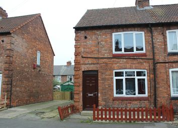 Thumbnail 2 bedroom semi-detached house for sale in Powell Street, Selby