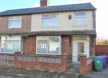 Thumbnail 3 bed semi-detached house for sale in Lynwood Gardens, Walton, Liverpool
