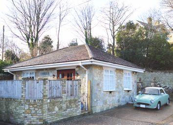 Thumbnail 2 bed detached bungalow for sale in Marlborough Road, Ventnor