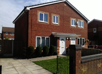 Thumbnail 3 bed terraced house to rent in Daresbury Close, Kirkby