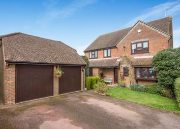 Thumbnail 4 bed detached house for sale in Grange Road, Hazlemere, High Wycombe