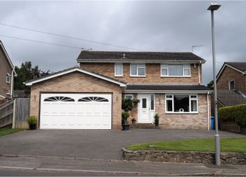 Thumbnail 4 bedroom detached house for sale in West Way, Broadstone
