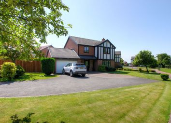 Thumbnail 4 bed detached house for sale in Deansfield Grove, North Walbottle, Newcastle Upon Tyne