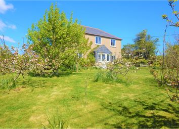 Thumbnail 4 bed detached house for sale in Leedstown, Hayle