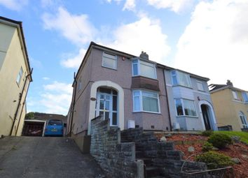 Thumbnail 3 bed semi-detached house for sale in Crownhill Road, Plymouth, Devon