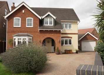 Thumbnail 4 bed detached house for sale in Isle Close, Crowle, Scunthorpe