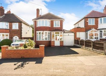 Thumbnail 3 bed detached house for sale in Queens Drive, Rowley Regis, West Midlands