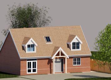Thumbnail 4 bedroom bungalow for sale in Whatfield Road, Elmsett, Ipswich, Suffolk