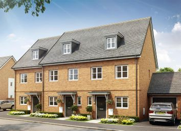 Thumbnail 3 bed town house for sale in Juniper Park, Off Bramley Road, Aylesbury