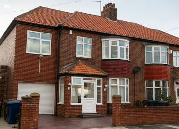 Thumbnail 4 bed semi-detached house for sale in Kingsway, Newcastle Upon Tyne