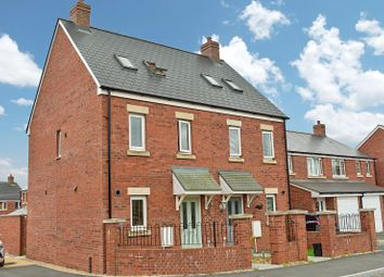 Thumbnail 3 bed semi-detached house for sale in Bryn Y Telor, Coity, Bridgend.