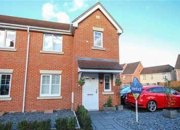 Thumbnail 3 bed semi-detached house for sale in St. Swithins Road, Fleet