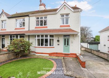 Thumbnail 3 bed semi-detached house for sale in Plas Uchaf Avenue, Prestatyn