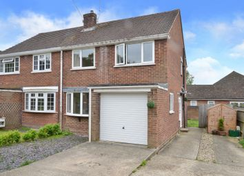 Thumbnail 3 bed semi-detached house to rent in Range View, College Town, Sandhurst