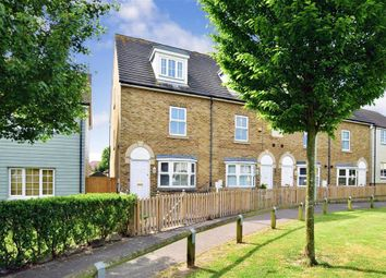 Thumbnail 3 bedroom end terrace house for sale in Pochard Crescent, Stillwater Park, Herne Bay, Kent