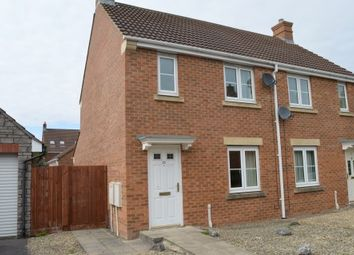 Thumbnail 2 bed semi-detached house for sale in Kempe Way, Weston Village, Weston-Super-Mare
