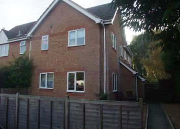 Thumbnail 2 bedroom terraced house to rent in College Court, Sawtry, Huntingdon