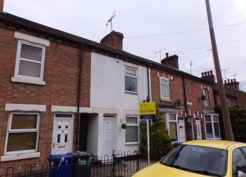 Thumbnail 2 bed terraced house for sale in Forest Road, Burton On Trent, Staffordshire