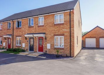Thumbnail 3 bed end terrace house for sale in Cowslip Close, Peterborough