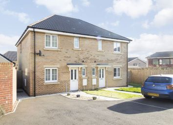 Thumbnail 3 bed semi-detached house for sale in Pendinas Avenue, Croespenmaen, Crumlin, Newport